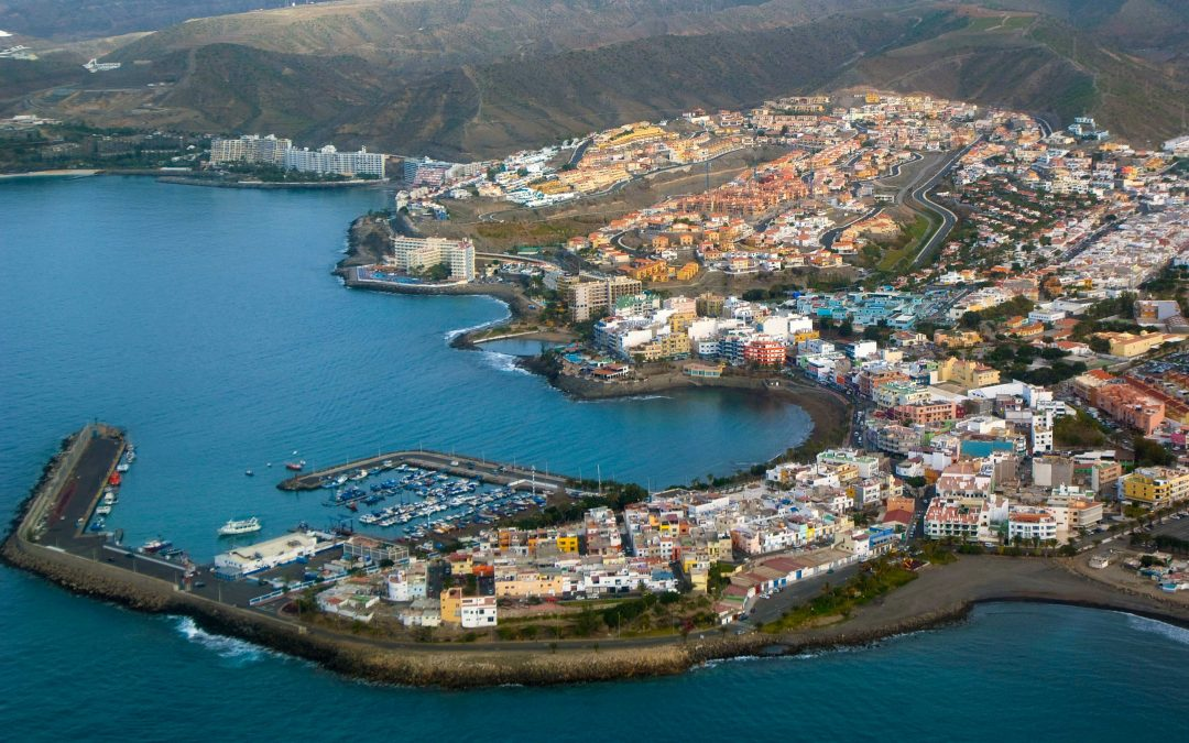 Southern towns of Gran Canaria